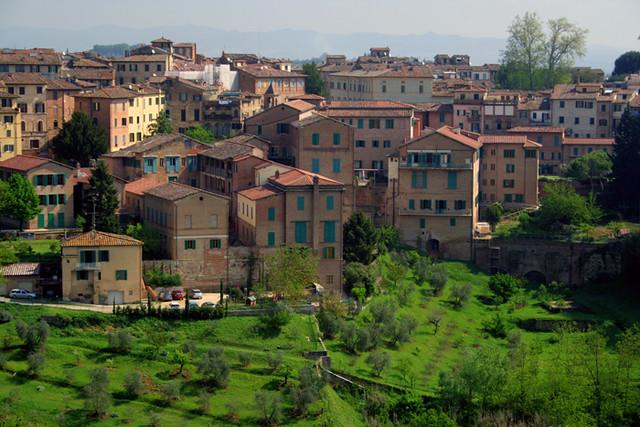 Postal de Siena