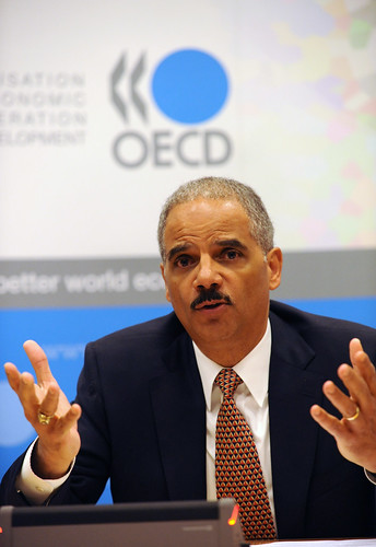 US Attorney General Eric H. Holder at OECD   by Organisation for Economic Co-operation and Develop
