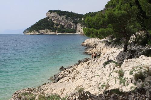 beach croatia adriatic tucepi nugal