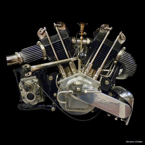 No 98: VINTAGE BROUGH SUPERIOR SS100 (JAP)V-TWIN ENGINE, 1
