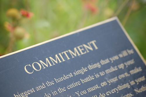 Commitment | by ilovememphis