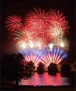 Fantastic Fireworks 25th Anniversary Display