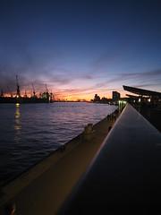 unten am Hafen