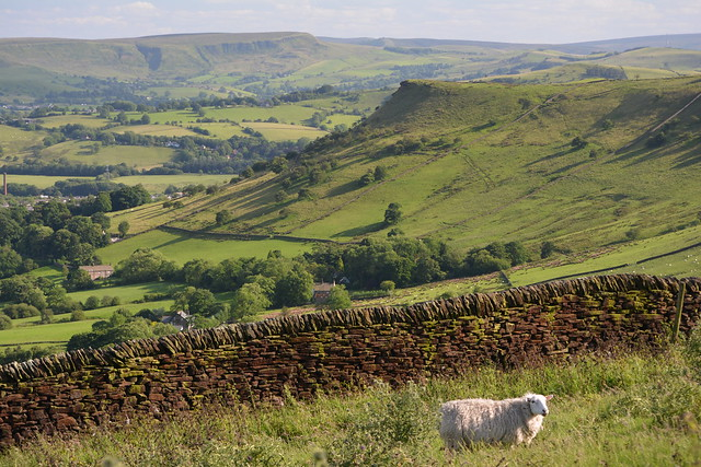 Chinley Churn, Peak District National Park, Derbyshire, England.