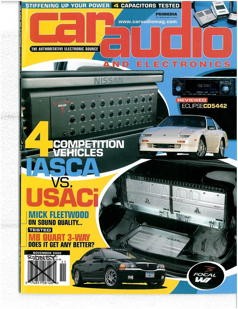 CAR AUDIO AND ELECTRONICS MAGAZINE - NOVEMBER 2002 | Flickr