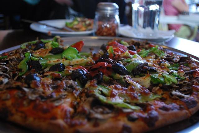 Vegetarian Pizza - Paesano