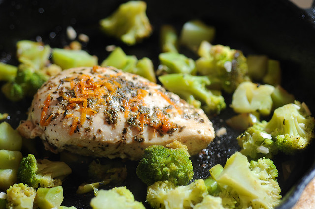 Chicken and Broccoli 1/365