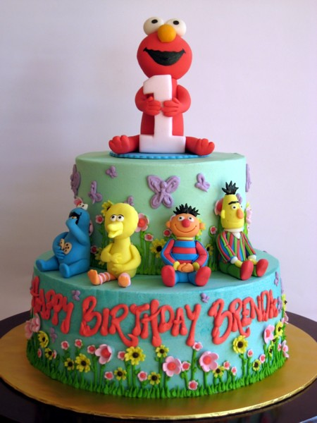 elmo and friends!