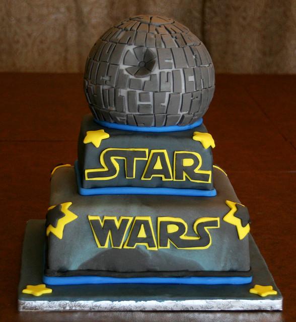 Star Wars Death Star Birthday Cake