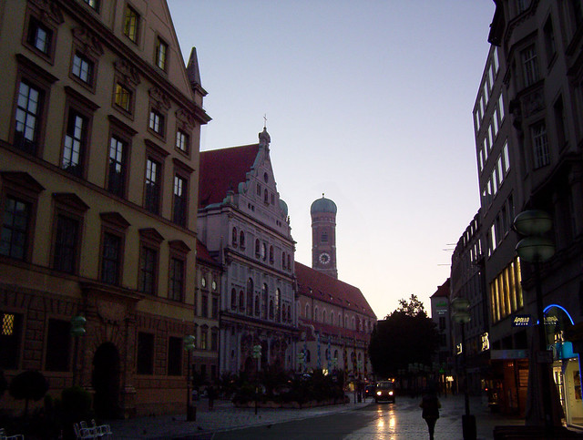 Munich In Early Morning