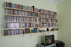 CD shelves | by Justin Snow