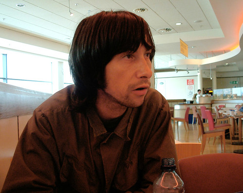 Bobby Gillespie @ Belfast Airport Sept 9 2002 | by bp fallon