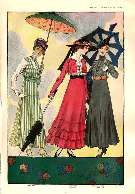 PetitPoulailler Delineator [Butterick] 1915 Magazine
