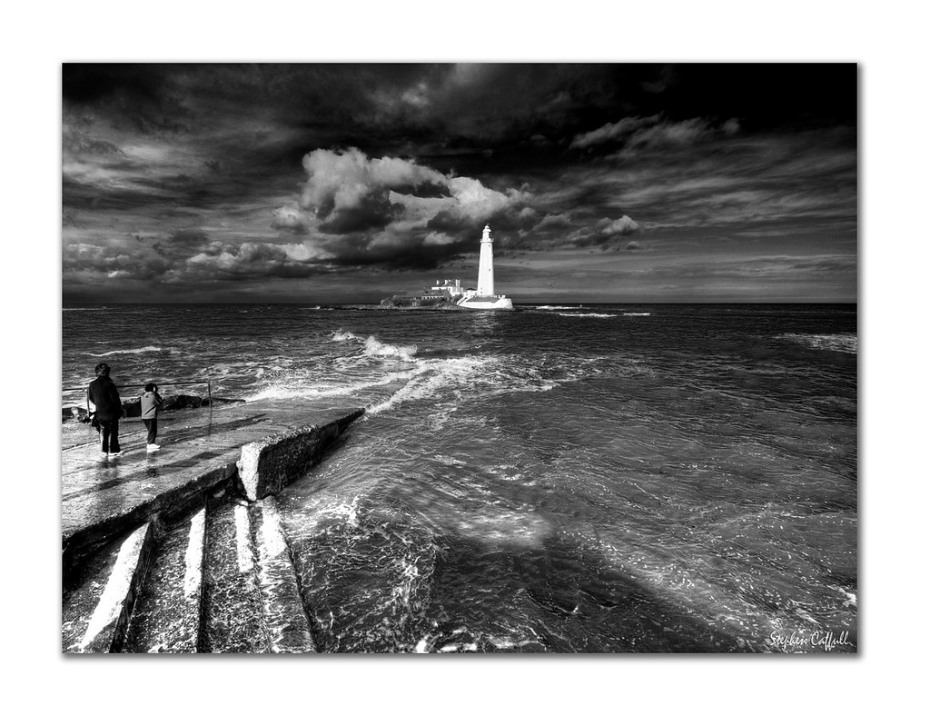 St mary 39 s monochrome st mary 39 s lighthouse near to - Pan am pool public swimming hours ...