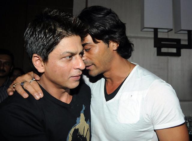 Shahrukh Khan & Arjun Rampal | iplcricket | Flickr