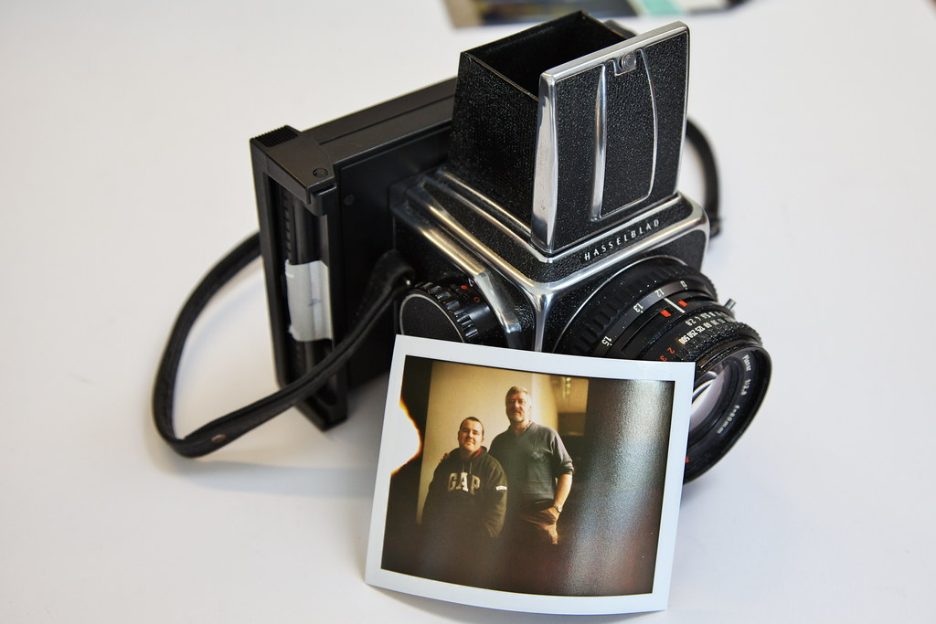 Hasselblad 500 C/M with Polaroid back #2 | turgidson | Flickr