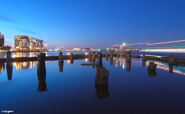Stenen Hoofd at blue hour