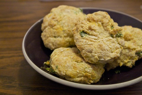 Cheddar Herb Biscuits | by baba lu