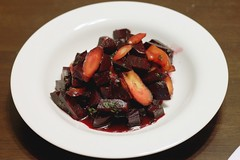 warm carrot and beet salad | by Stacy Spensley