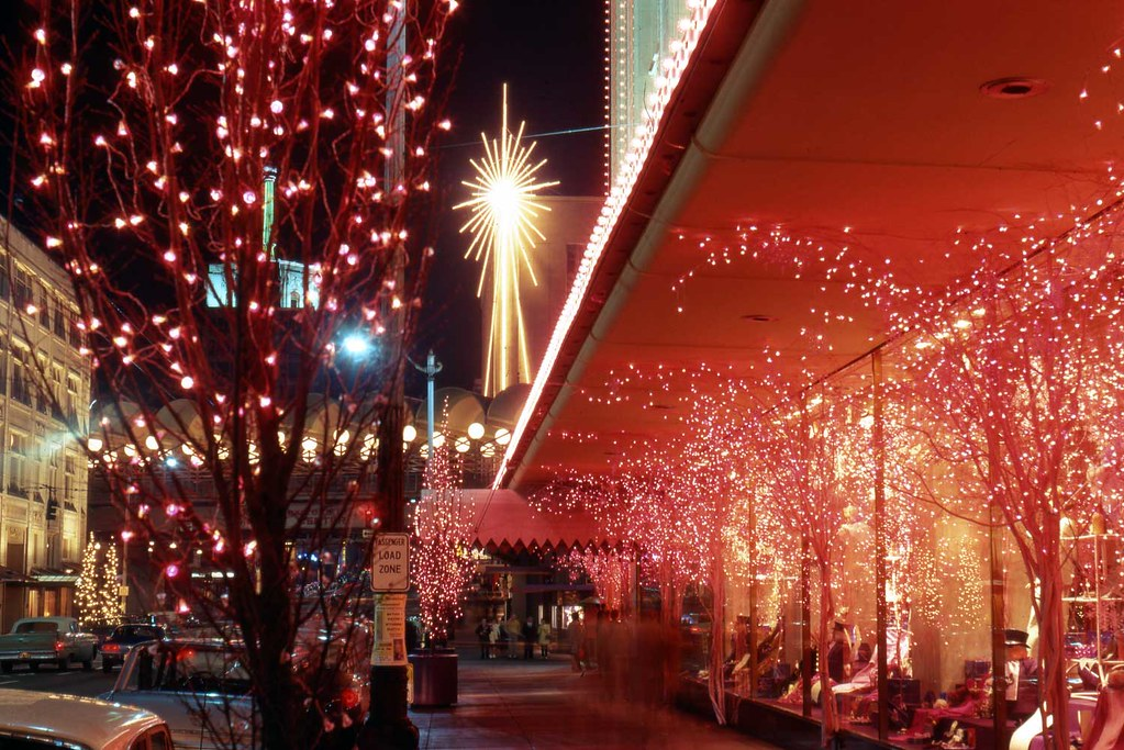 Seattle Christmas.Frederick Nelson Christmas Downtown Seattle This Is Now