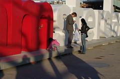 big I Amsterdam letters
