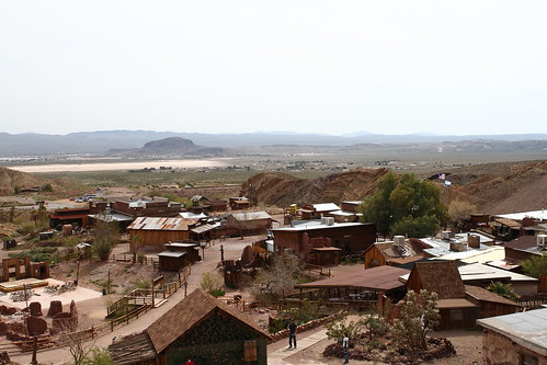 Calico Ghost Town From Overlook