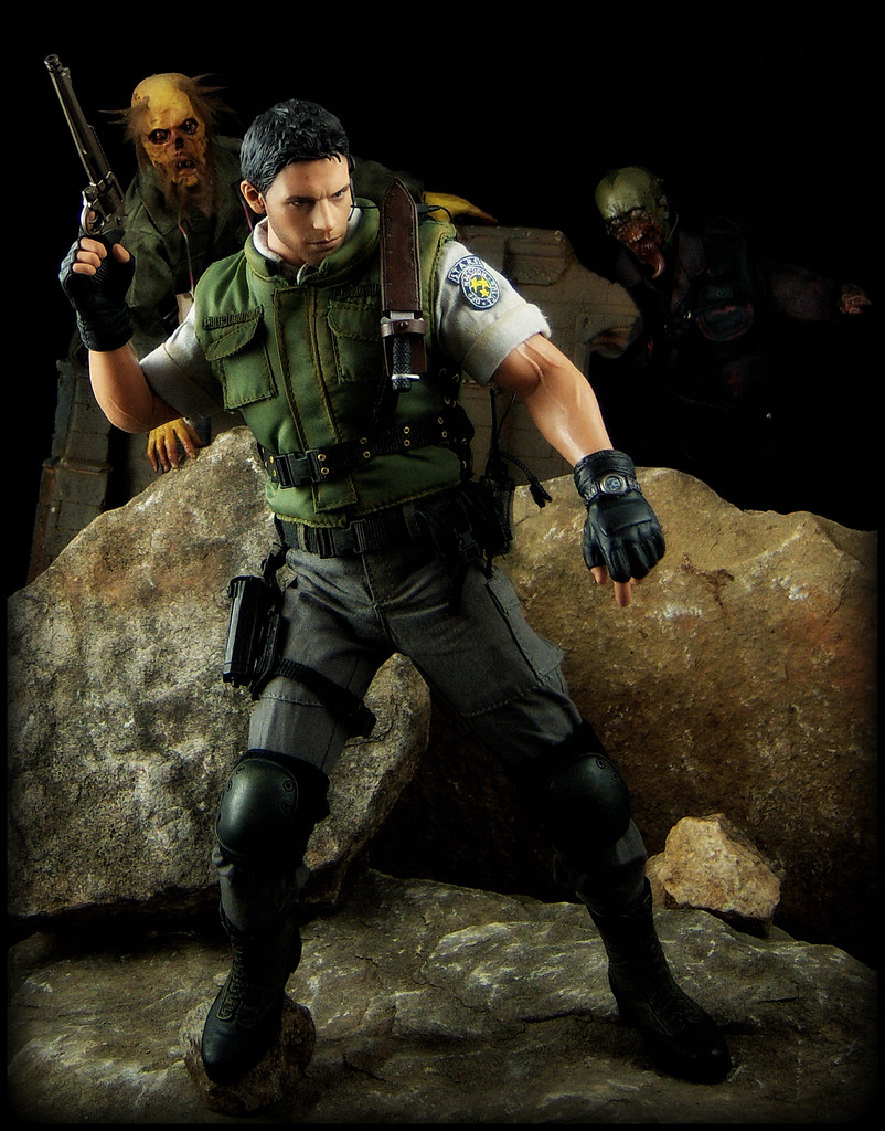 Hot Toys Resident Evil 5 Chris Redfield S T A R S Vers Flickr