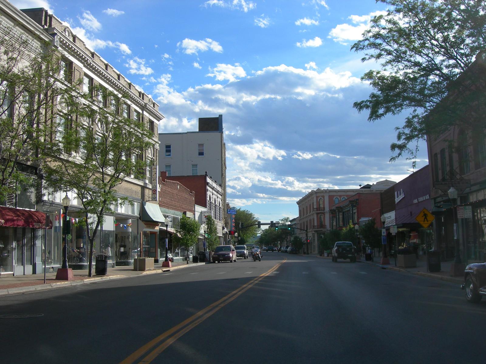 Downtown Trinidad, Colorado