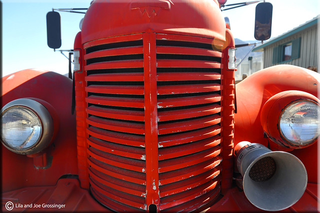 Fire Engine At Stovepipe Wells