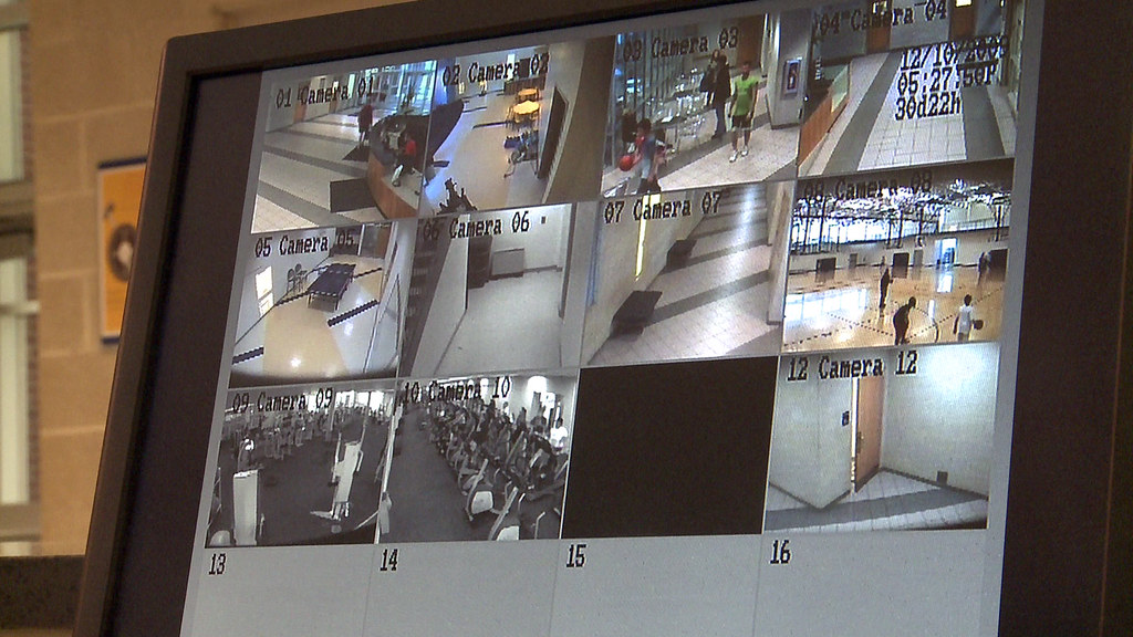 Security camera | Security cameras monitor different areas o