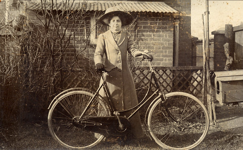 An Edwardian lady with her bike | by lovedaylemon