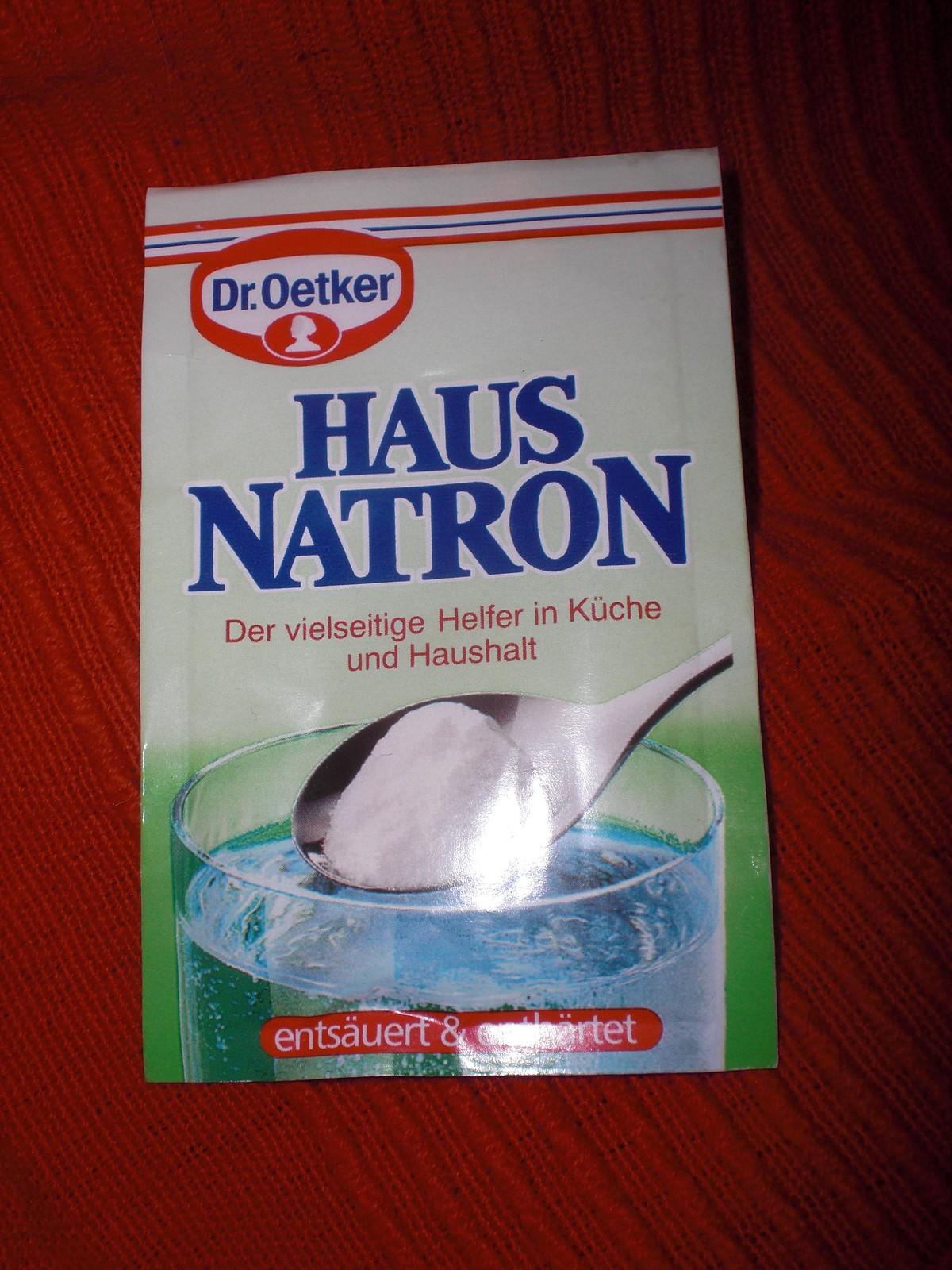 Dr Oetker Haus Natron