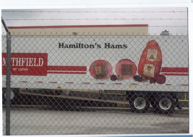 Hamilton Hams Truck at Smithfield Foods in Virginia  | Flickr