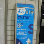 oyster card vending machine