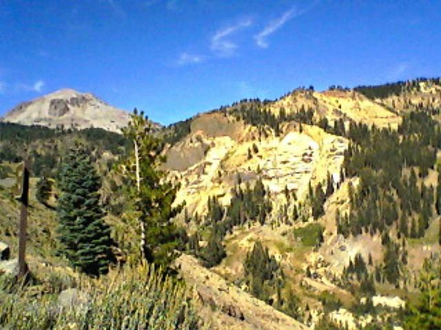 Little Hot Springs Valley and Lassen Peak