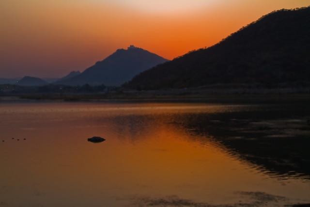 Sun Set - Fateh Sagar Lake