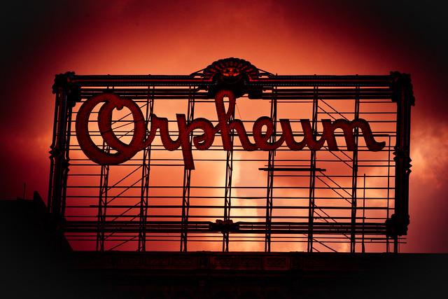 Orpheum Theatre - rooftop