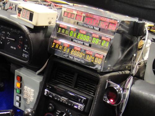 Back to the Future Delorean dashboard   by Doug Kline