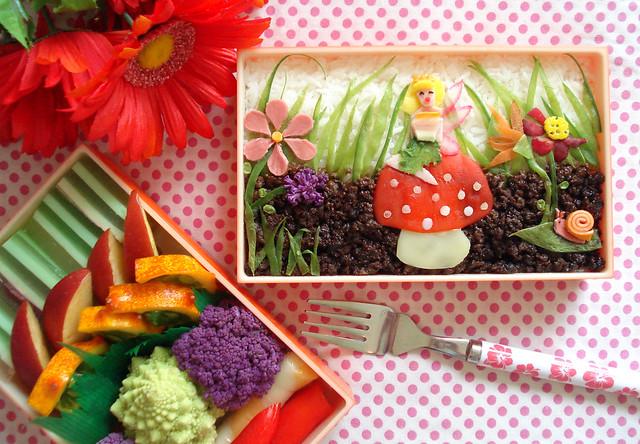 Fairy Garden Bento Retake #49