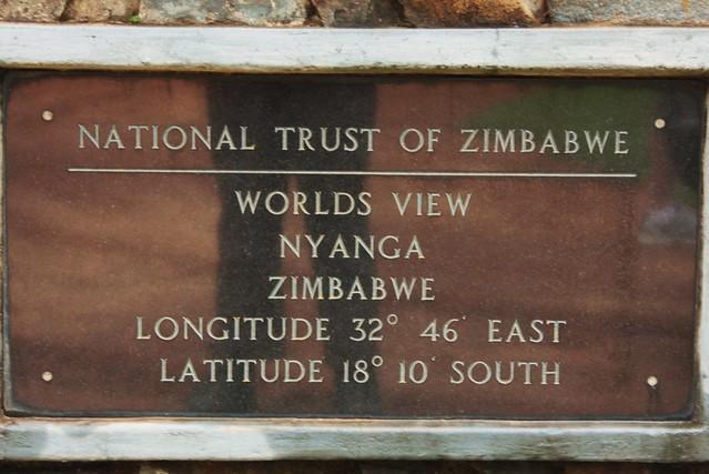 World's View, Nyanga