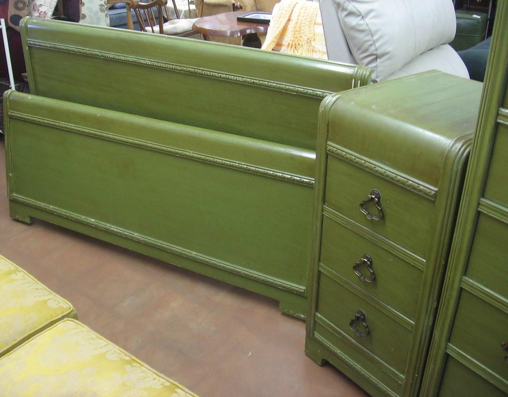 sold fs harmon mfg pre60s bedroom set  seattle