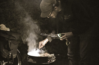 Felix Barbecuing | by goingslowly