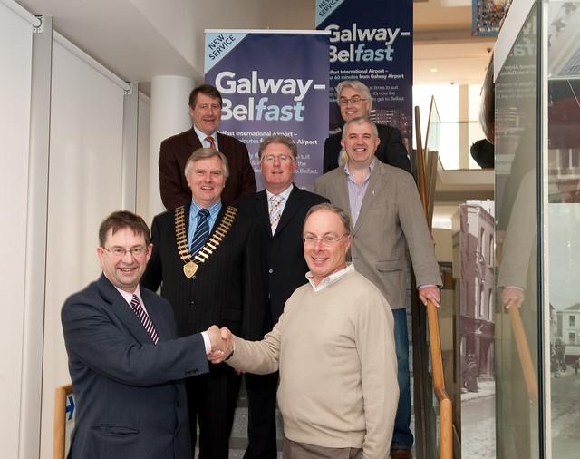 Galway to Belfast Launch