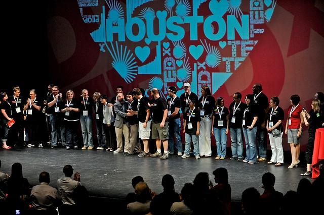 The volunteer team at TEDxHouston 2010