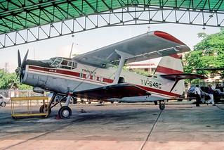 149ao - TRANACA Antonov 2; YV-546C@CBL;03.10.2001