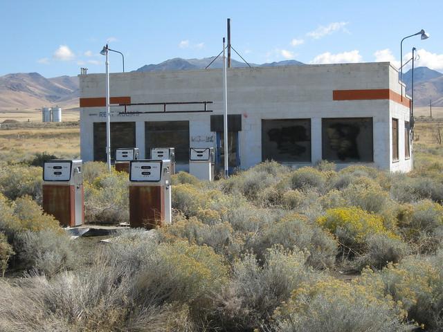 Old Gas Station - Winnemucca, NV