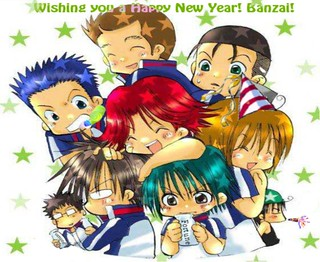 Seigaku's Happy New Year | by kittkatt90