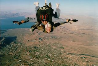 Skydiving in Las Vegas | by CarolynTNYC