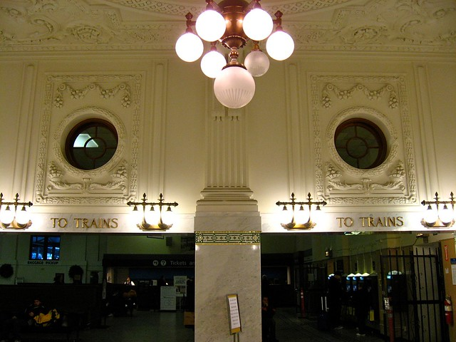 Inside Seattle's King Street Station