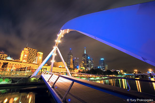 Melbourne :: Southgate Footbridge | by -yury-